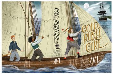 Gold Rush Girl: the full cover