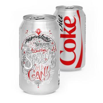 Diet Coke's ReTweets of Love (1/5)