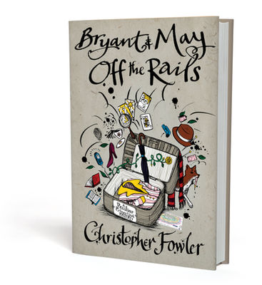 The Peculiar Crimes Unit series by Christopher Fowler