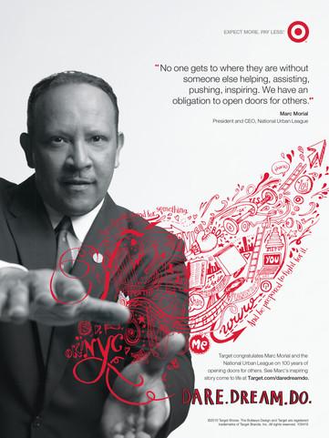 Target's 'Dare.Dream.Do' campaign, USA