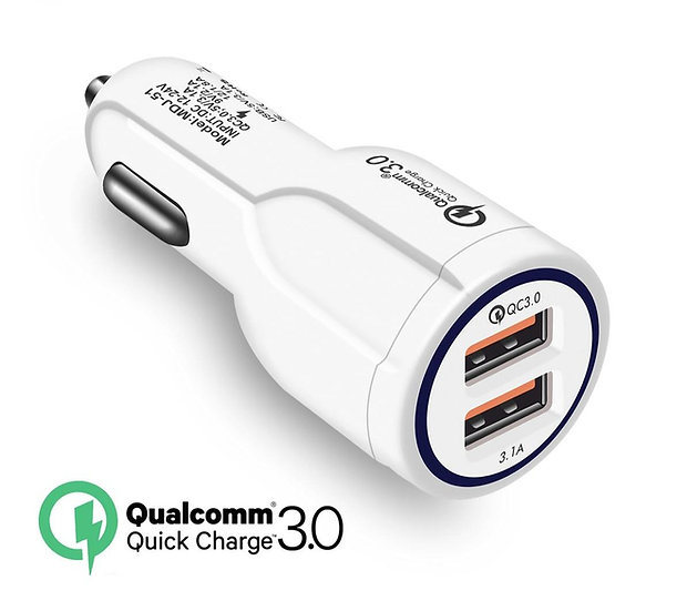 Car Charger Qualcomm quick charge 3.0