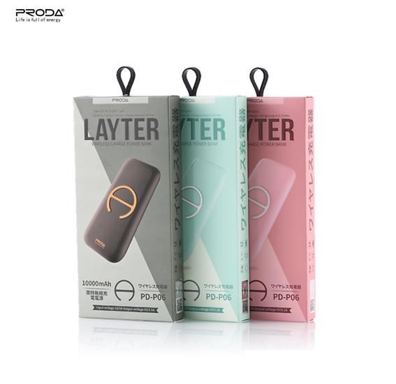 PRODA Wireless Power bank Layter - PD-P06
