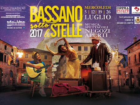 """Bassano sotto le Stelle"" 2017"