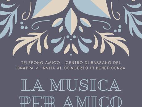 """Concerto di beneficenza – """"La Musica per Amico"""""""