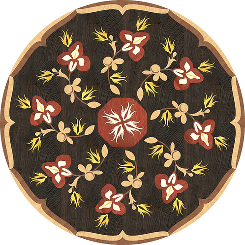 MRO008 Floral Medallion