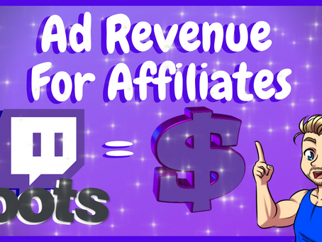 How To Get Ad Revenue On Twitch - Loots Tutorial!