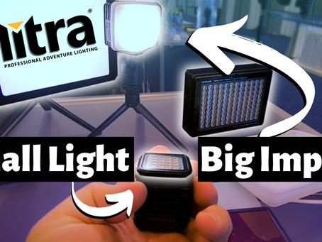 Super Small LED Lights For Streaming, Vlogging, YouTube & More - Litra Lights!