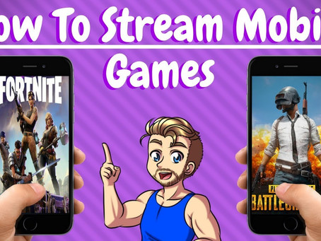 How to Mobile Stream Fortnite and PlayerUnknown's Battlegrounds