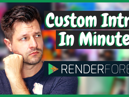 EASY Twitch Intro Video Templates With Render Forest!