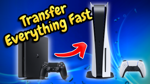 How To Transfer ALL DATA From PS4 To PS5 (Games, Saves, DLC, Trophies)