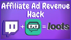 How To Make Money As A Twitch Affiliate - Ad Revenue Secret!