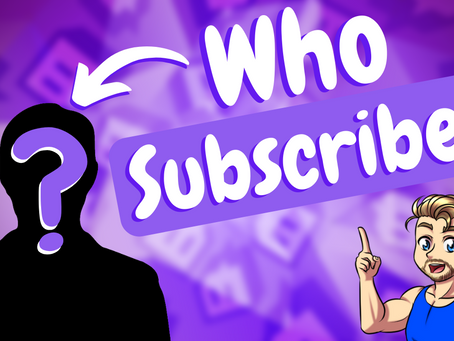 Twitch Subscribers Count - How To See Who Subs To Your Channel!