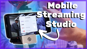 The FUTURE Of Mobile Streaming! Best Mobile Streaming Setup - VidiMo?