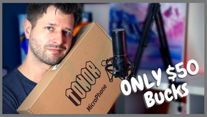 Super Cheap Microphone For Twitch - Tonor Q9 Microphone Package!