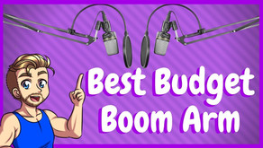 Best Budget Boom Arm For Gamers & Streamers!