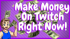 How To Make Money On Twitch Without Being A Partner!