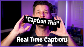 Adding Real Time Subtitles & Captions To Your Streams & Content To Grow!