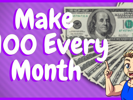 How To Make $100 PAYOUT Every Month On Twitch!