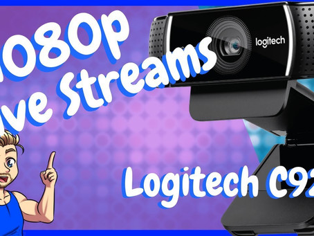 Logitech C922 Review - Best Live Streaming Camera Under $100
