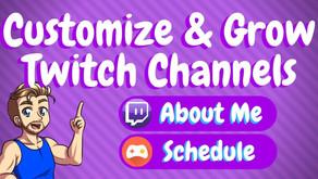 Best Twitch Panel Customization!