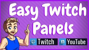 Free Twitch Panel Creator - Create Panels In A Few Clicks!