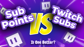 Twitch Sub Points VS Subscription- What's The Difference?