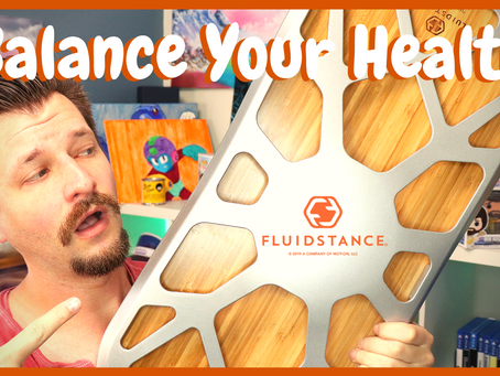 Balance Your Health - Fluidstance Deck Review!