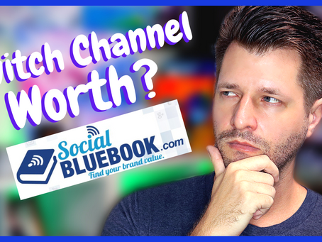 How Much A Twitch Channel Is Worth - Social Bluebook!