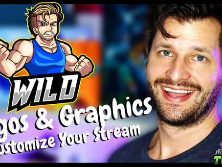 Where To Find Custom Alerts, Logos & Graphics For Streamers - Overlay Template!