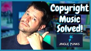 Streamer Copyright Music Problems SOLVED!!!  Jingle Punks App!