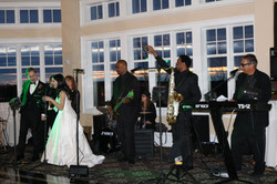 Stages Band with Bride