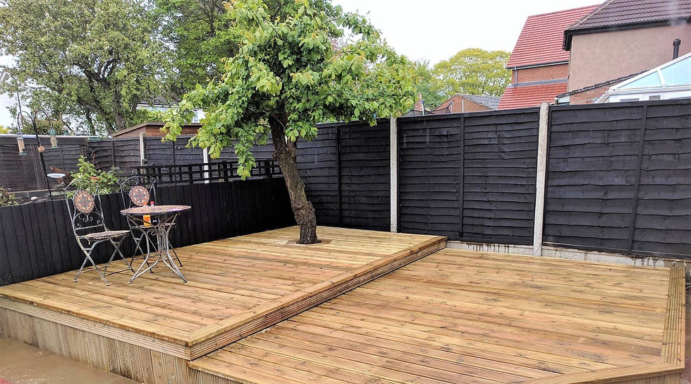 Carpentry rugby, decking
