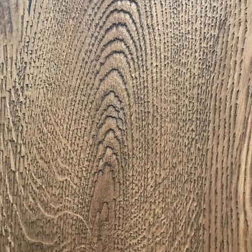 220mm Antiqued Bronze Handcrafted  Oak