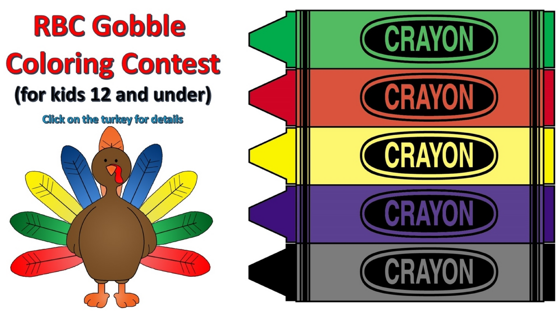 Gobble Coloring Contest