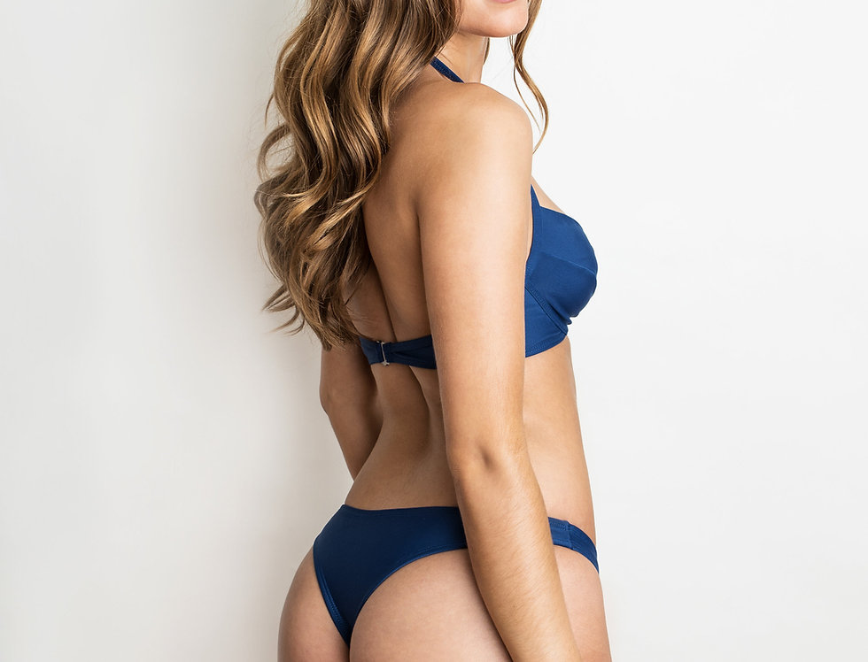 Raquel Navy Bottoms
