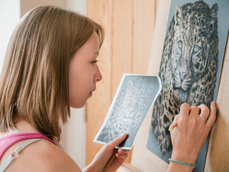 Art increases wellbeing and decreases stress levels