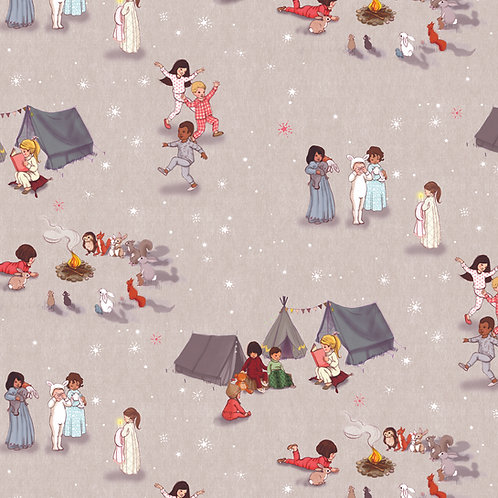 Belle & Boo Fabric - Bedtime Stories Currently out of stock
