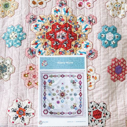 Weeny World Pattern by Rae Telfer