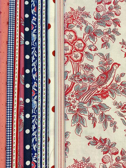 Fabric Packs - Ode a la France