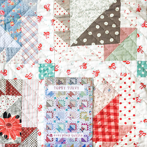 Topsy Turvey pattern by Everyday Quilting