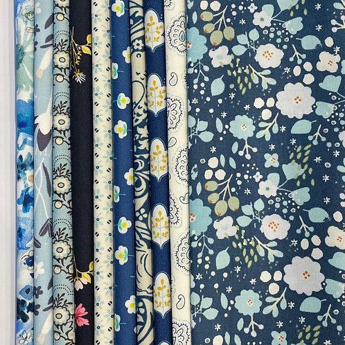 Fabric Packs - Moody Blues