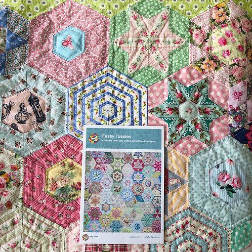 Fussy Tussies Pattern by Rae Telfer