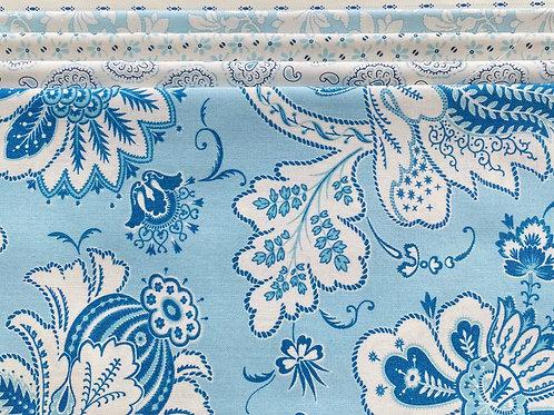 Fabric Packs - Breezy Blues