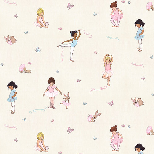 Belle and Boo Fabric - Ballet