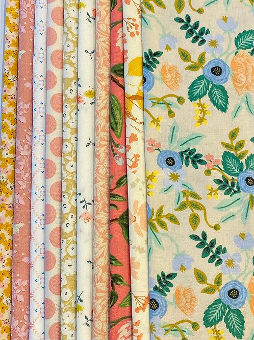 Fabric Packs - Peaches & Cream
