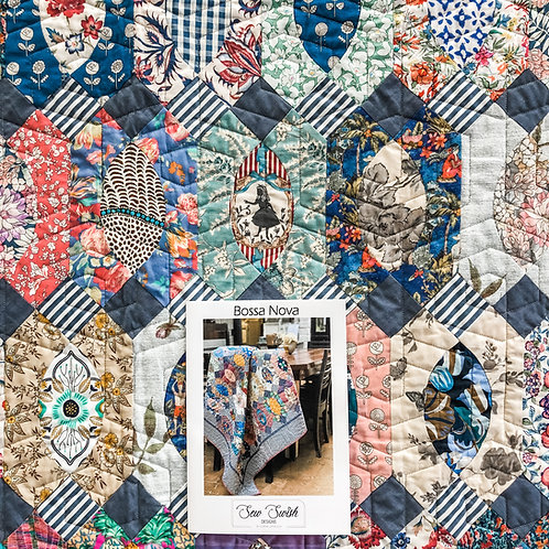 Bossa Nova pattern and templates