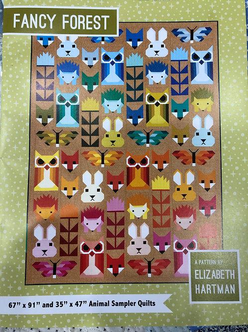 Fancy Fox Pattern by Elizabeth Hartman