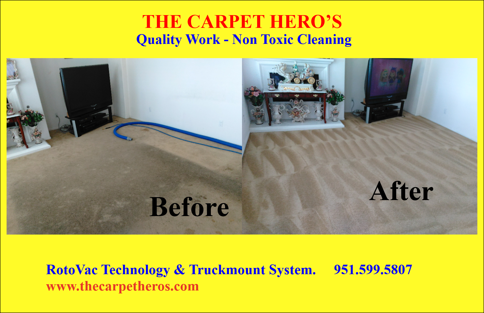Carpet Cleaning in Temecula