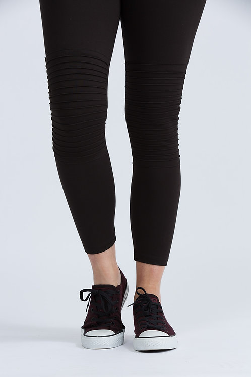 EJ Moto Pant with High Waist Compression