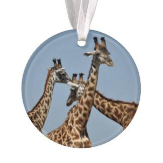 Safari Ornament 1